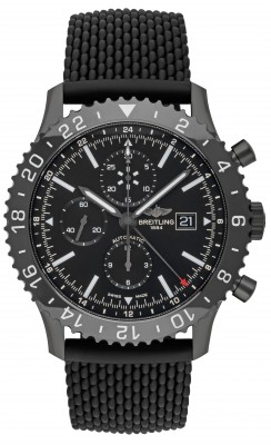 Breitling Chronoliner Blacksteel