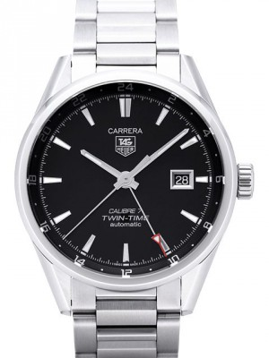 Tag Heuer Carrera Calibre 7 Twin-Time Automatic 41mm