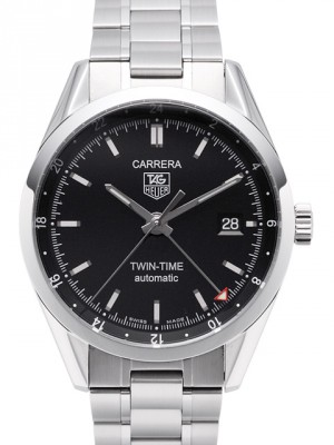 Tag Heuer Carrera Calibre 7 Twin-Time Automatic 39mm